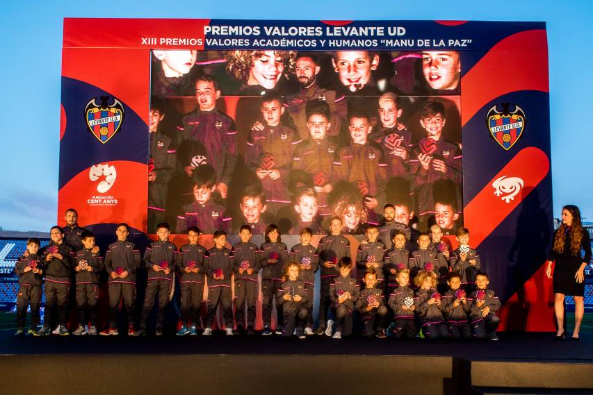 Click here for photos of the Levante UD Values Awards!