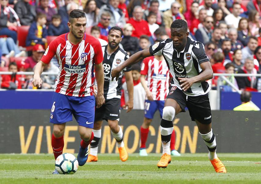 Click here for images of the match between Atlético de Madrid and Levante at the Wanda Metropolitano