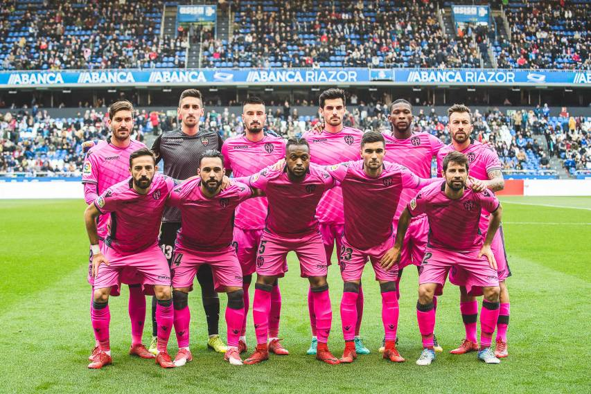 DEPORTIVO - LEVANTE UD 2017-2018 ONCE INICIAL