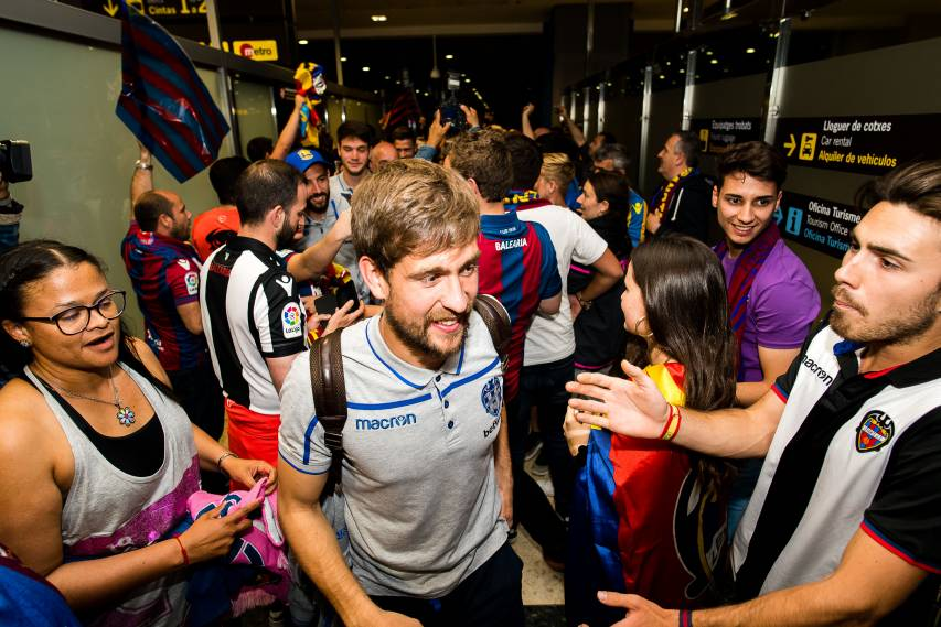 In images: re-live a memorable matchday for Levante fans