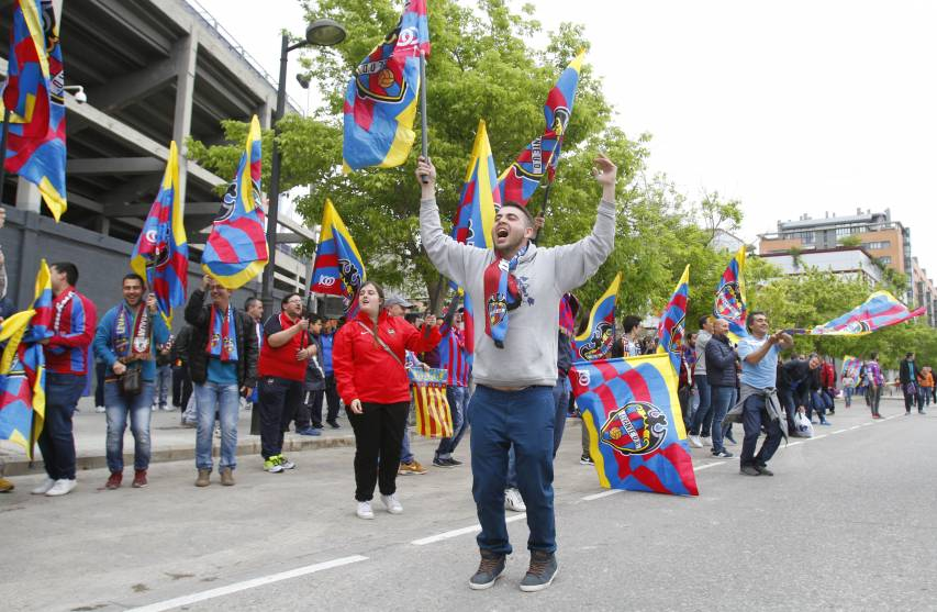 Recall the best moments of Levante's promotion to the first division