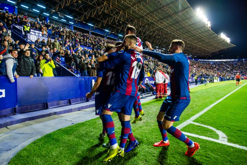 In images: Levante UD's vibrant victory over Valladolid