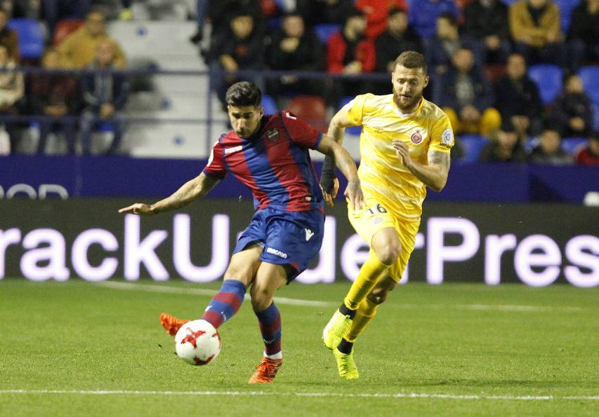 Click here to see photos of Levante UD beat Girona and qualify for the round of 16 of the King's Cup