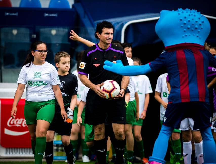 "In pictures: Football in its purest form was once again triumphant in the Ciutat at the ""Todo Jugamos"" Tournament"
