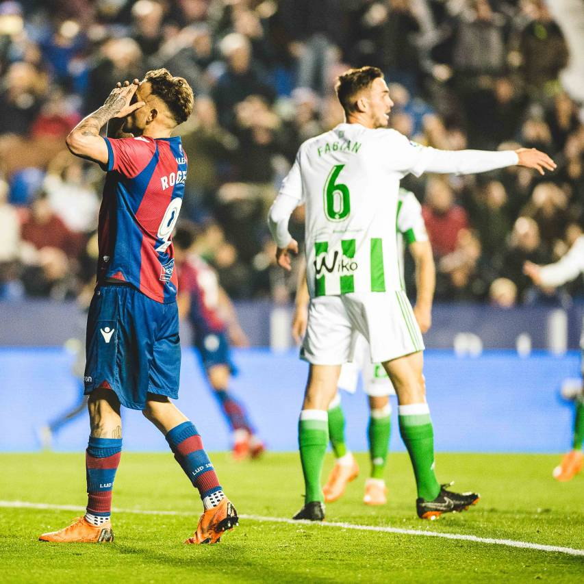 LEVANTE UD - REAL BETIS, ROGER