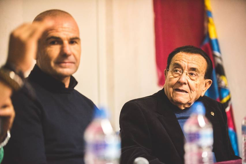 The best images of Paco López's meeting with the Fan Clubs