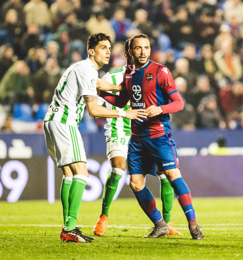 LEVANTE UD - REAL BETIS, PAZZINI