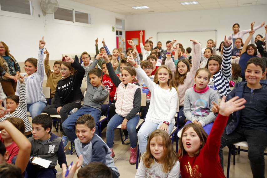 Nano and Cabaco launch the new season of lectures for the Children's Club