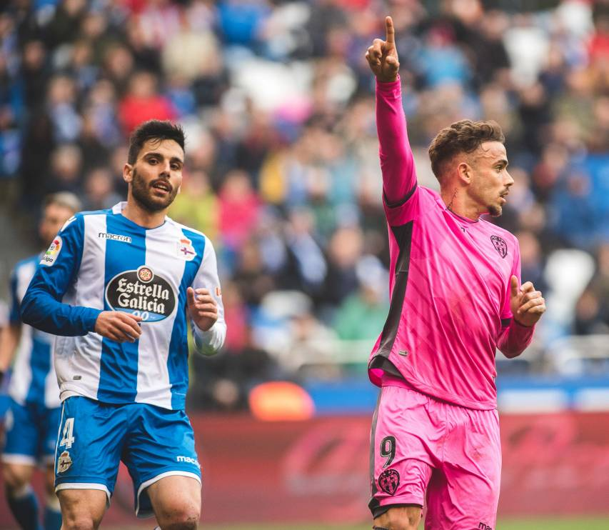 DEPORTIVO - LEVANTE UD 2017-2018  ROGER